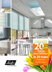 Bretagne Dunet Stores Affiche 20 Le 20 Mars